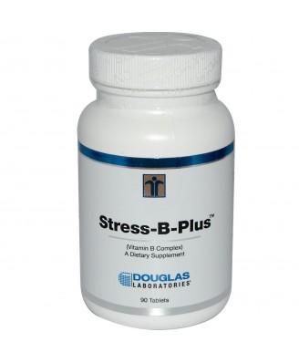 Douglas Laboratories, Stress-B-Plus, Vitamin B Complex, 90 Tablets