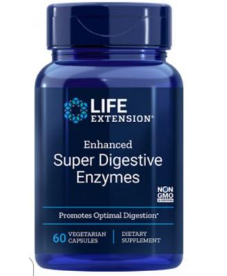 Enhanced Super Digestive Enzymes (60 Veggie Capsules) - Life Extension