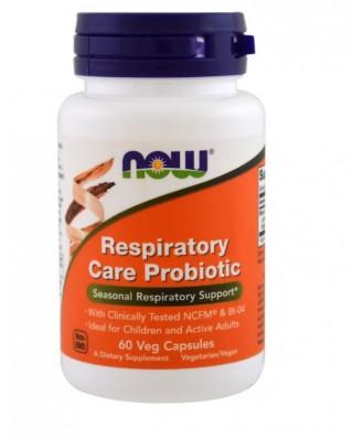 Respiratory Care Probiotic (60 Vegetarian Capsules) - Now Foods
