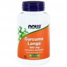 Curcuma Longa 500 mg (Curcumine Phytosome) (60 vegicaps) - NOW Foods
