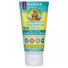 Badger Company, Baby Sunscreen Cream, Broad Spectrum SPF 30, Chamomile & Calendula, 2.9 fl oz (87 ml)