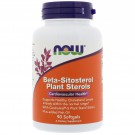 Beta-Sitosterol Plant Sterols (90 softgels) - Now Foods