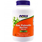 Saw Palmetto Berries 550 mg (250 Veggie Caps) - Now Foods