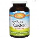 Super Beta Carotene 25.000 IU (15 mg) (250 Softgels) - Carlson Labs