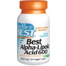 Doctor's Best, Best Alpha-Lipoic Acid, 600 mg, 60 Veggie Caps