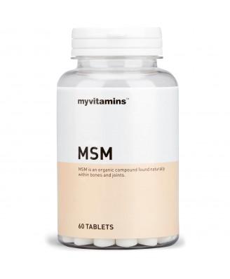MSM (60 Tablets) - Myvitamins
