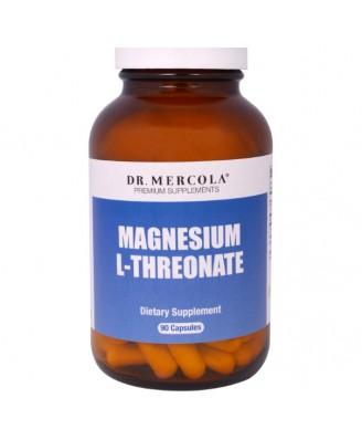 Magnesium L-Threonate (90 Capsules) - Dr. Mercola
