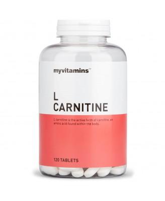 L Carnitine (120 Tablets) - Myvitamins