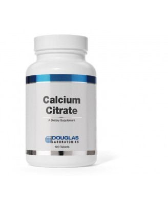 Calcium Citrate - 100 tablets - douglas laboratories
