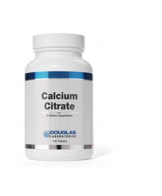 Calcium Citrate - 100 tablets - douglas laboratories