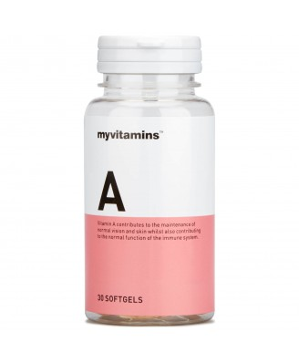 Myvitamins Vitamin A, 90 Soft Gels (90 Softgels) - Myvitamins