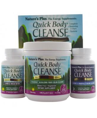 Quick Body Cleanse, 7 Day Program, 3 Part Program ( ) - Nature's Plus