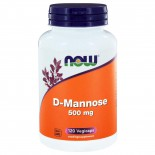 D-Mannose 500 mg (120 capsules) - Now Foods
