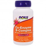 Co-Enzyme B-Complex (60 Vegetarian Capsules) - Now Foods