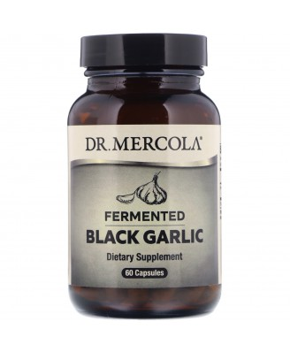 Fermented Black Garlic (60 Capsules) - Dr. Mercola