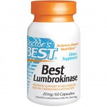 Best Lumbrokinase 20 mg (60 Capsules) - Doctor's Best