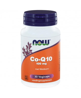 Now Foods, CoQ10, 100 mg, 30 Vcaps