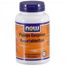 Now Foods, kauwtabletten Papaya enzymen, 180 kauwtabletten