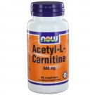 Acetyl-L-Carnitine 500 mg (50 Veggie Caps) - Now Foods