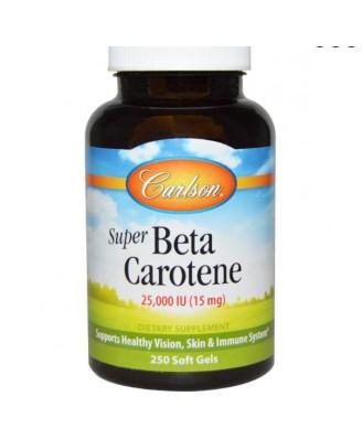 Super Betacaroteen, 25.000 IE (250 Softgels) - Carlson Labs