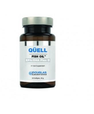 Quell Fish Oil - High EPA + DHA w/Vitamin D3 (30 Tablets) -  Douglas Laboratories