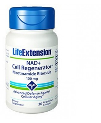 Nad + Cell Regenerator Nicotinamide Riboside 100 Mg - 30 vegetarische Capsules - Life Extension