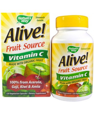Nature-s-Way-Alive-Vitamin-C-100-Whole-Food-Complex-120-Vcaps