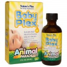 Source of Life - Animal Parade - Baby Plex - Sugar Free Multivitamin Liquid Drops - Natural Orange Flavor (60 ml) - Nature's Plus