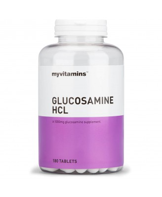 Myvitamins Glucosamine HCl, 180 Tablets (180 Tablets) - Myvitamins