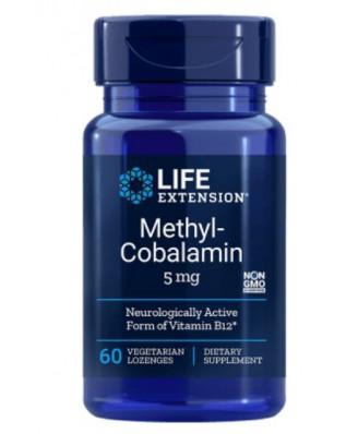 Methylcobalamin 5 mg (60 Veggie Lozenges ) - Life Extension