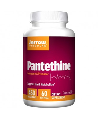 Pantethine 450 mg (60 softgels) - Jarrow Formulas