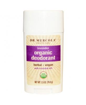 Organic Deodorant Lavender (70.8 g) - Dr. Mercola