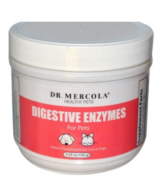 Digestive Enzymes for Pets (150 g) - Dr. Mercola