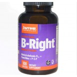 Vitamin B - B-Right, vitamine B-Complex (100 Capsules) - Jarrow Formulas