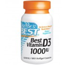 Best Vitamin D3 1000 IU (180 Softgels) - Doctor's Best