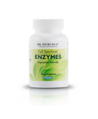 Dr. Mercola - Full Spectrum Enzymes (90 Capsules)