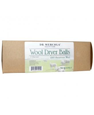 Healthy Home - Wool Dryer Balls (3 Balls) - Dr. Mercola
