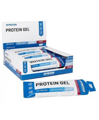 Protein Gel - Flavour Raspberry (12 bars of 70g) - MyProtein