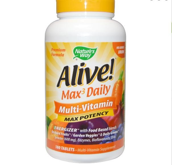 Nature S Way Alive Liquid Max Potency