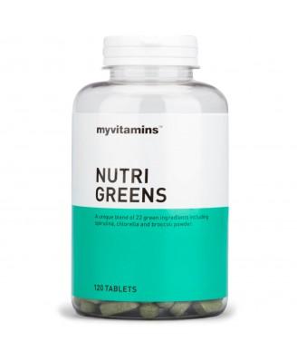 Myvitamins Nutri-Greens, 120 Tablets (120 Tablets) - Myvitamins