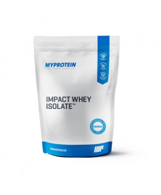 Impact Whey Isolate, Chocolate Brownie, 1kg - MyProtein