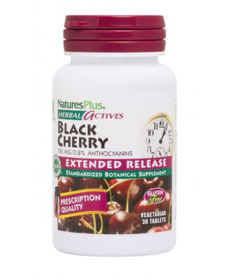Herbal Actives- Black Cherry- 750 mg (30 Tablets) - Nature's Plus