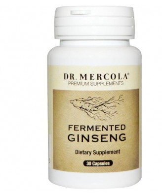Fermented Ginseng (30 Capsules) - Dr. Mercola