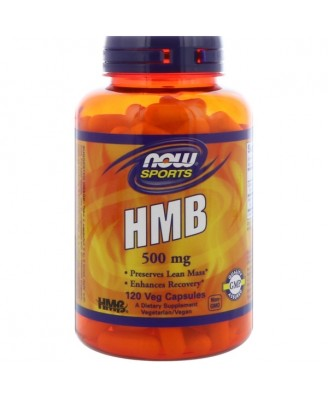 Sports - HMB 500 mg (120 Vegetarian Capsules) - Now Foods