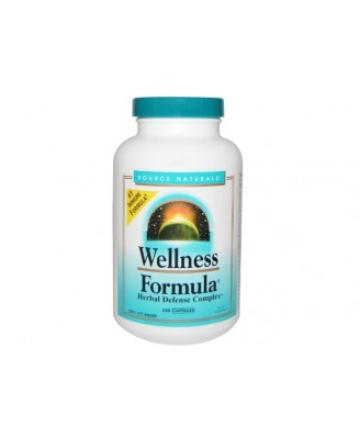 Wellness Formula- Herbal Defense Complex (240 capsules) - Source Naturals