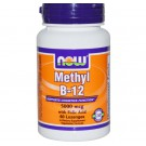 Methyl B-12 5000 mcg (60 Lozenges) - Now Foods