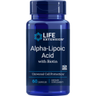 Super Alpha-Lipoic Acid With Biotin 250 Mg - 60 Capsules - Life Extension