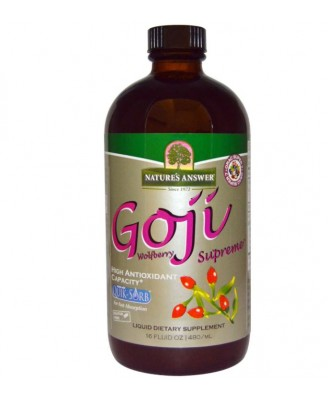 Nature's Answer, Goji Wolfberry Supreme, 16 fl oz (480 ml)