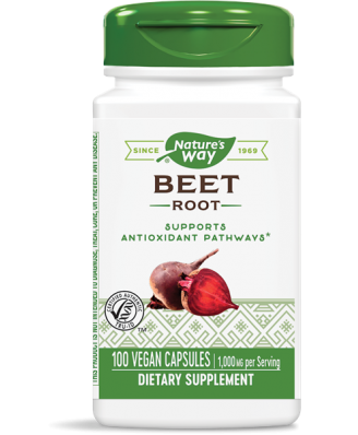 BEET ROOT 500 MG (100 CAPSULES) - NATURE'S WAY
