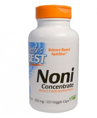 Doctor's Best, Best Noni Concentrate, 650 mg, 150 Veggie Caps